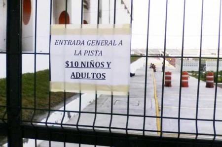 Polemizan por cobro en pista de atletismo de Reynosa