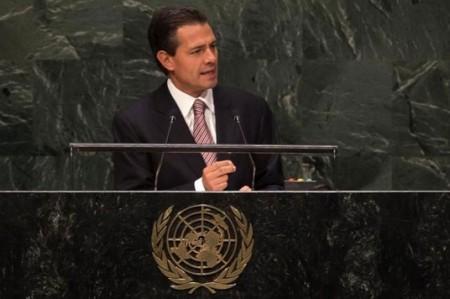 Peña Nieto asistirá a Asamblea General de la ONU en Nueva York