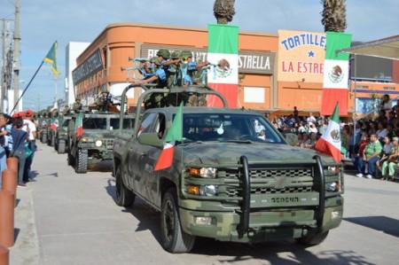 Fuerzas federales 'toman' calles en Reynosa