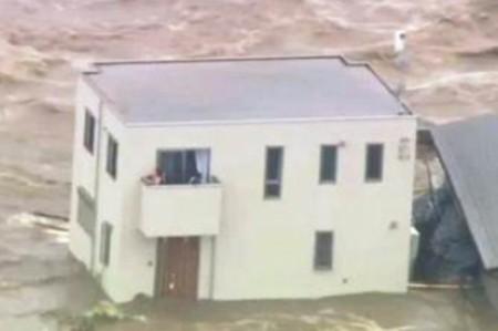 Intensifican rescate de personas atrapadas por inundaciones en Japón