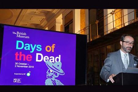 Celebrarán el Día de Muertos en el Museo Británico de Londres