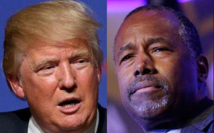 Donald Trump critica a Ben Carson y a la prensa