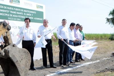 Crece red de agua en Tamaulipas