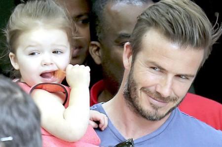 El amoroso tatuaje que Harper, le hizo a su papá David Beckham