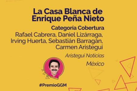 Entregan el Premio Gabriel García Márquez de Periodismo