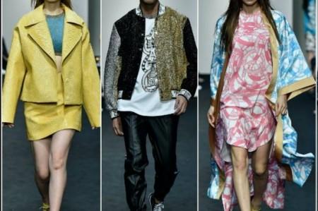 Dominaron las líneas en Seoul Fashion Week