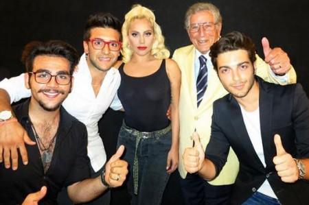 Il Volo, junto a Lady Gaga