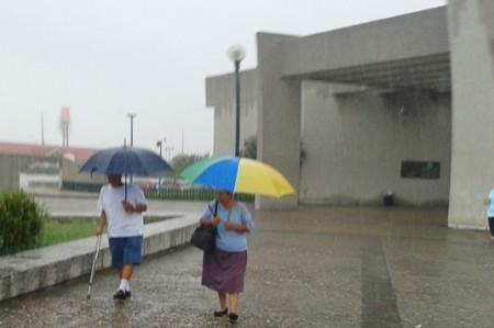 'Patricia' trae lluvia intensa a calles de Reynosa