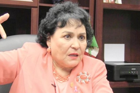 Carmen Salinas se transforma en 'Carminator'