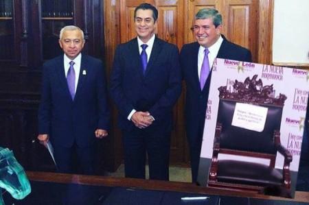 'El Bronco' 'jubila' silla de gobernador y designa titulares de Gobierno y Seguridad