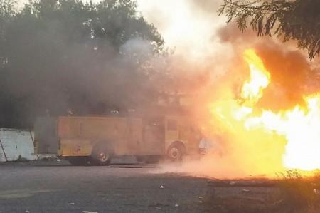 Alarma fuego cerca de Puente Internacional Reynosa-Hidalgo