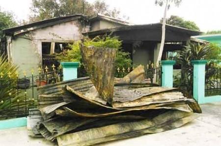 Muere pareja asfixiada en incendio en Valle Hermoso