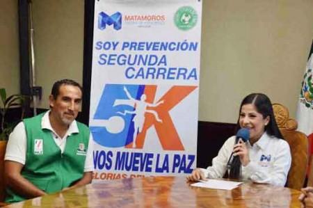 Invita Lety Salazar a 5K en Matamoros