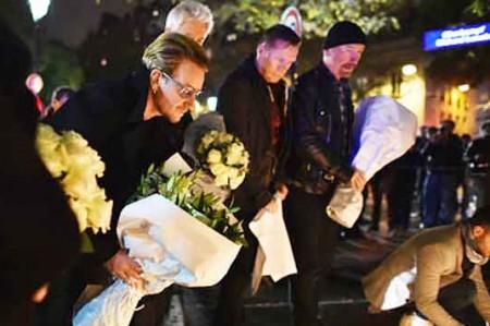 Bono vivió de cerca ataque terorrista en Niza