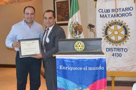 Carlos García promueve la Cultura Contributiva