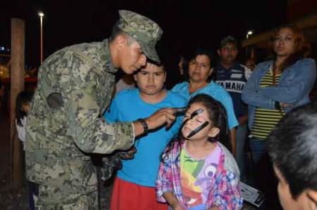 Despiden miles Expo Fuerzas Armadas en Reynosa; fotos