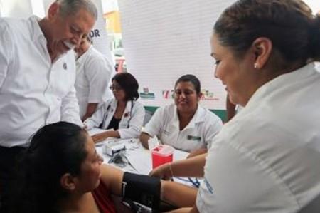 Acciones de Egidio Torre consolidan el sistema estatal de salud