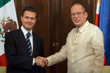 México y Filipinas firman acuerdos de cooperación bilateral