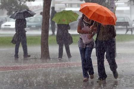 Pronostican lluvias esta noche en gran parte del país