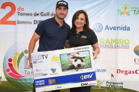Realizan Segundo Torneo de Golf DIF Tampico
