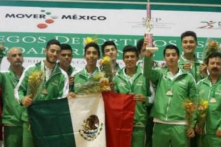 Voleibolistas mexicanos campeones en Juegos Centroamericanos Escolares