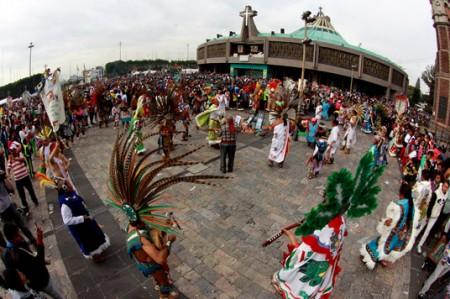 Más de 36 mil peregrinos de Querétaro van a la Basílica de Guadalupe