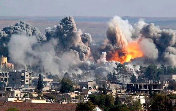 Resultado de imagen de Aviones bombardeando Siria