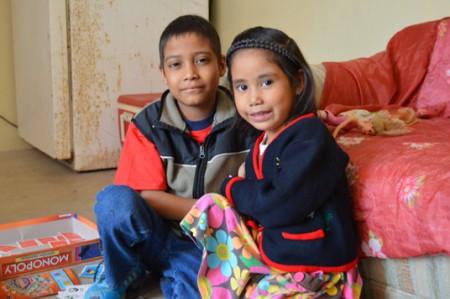 Familia Cruz Martínez: sólo quieren convivir cerca de un pinito