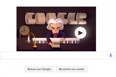 Google dirige la Quinta Sinfonía