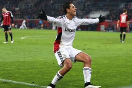 'Chicharito' llega a 19 goles con el Leverkusen