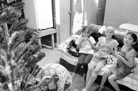 Familia de María del Rosario: cáncer y Navidad