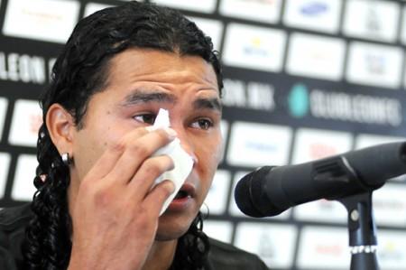 'Gullit' Peña podría ser dado de baja del Cruz Azul