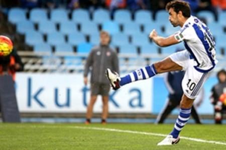 Real Sociedad vence 2-1 al Eibar con Carlos Vela de titular