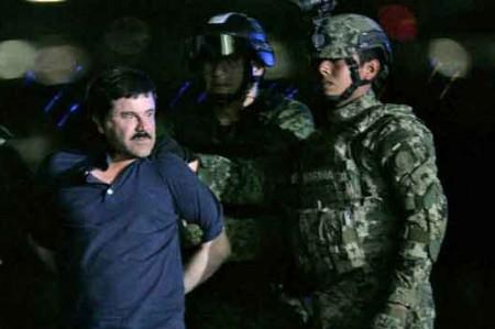 Esperan a 'El Chapo' hasta 79 cargos en California