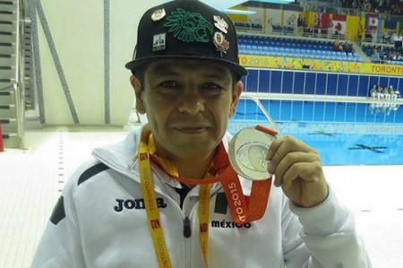 Nadador Edgar Pineda asegura que en Río 2016 va por medalla