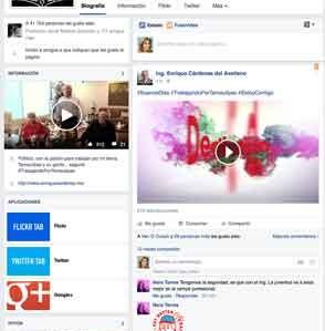 Redes sociales, la herramienta de Enrique Cárdenas