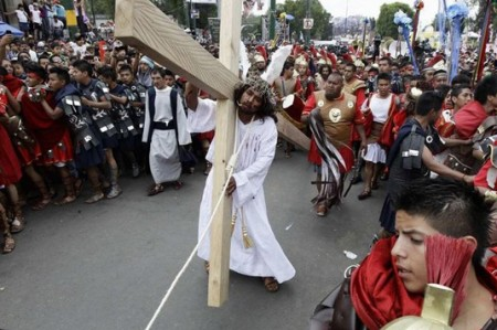 Eligen elenco para la próxima Pasión de Cristo en Iztapalapa
