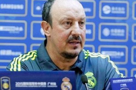 Ex técnico Rafael Benítez deseó suerte a Zidane y su equipo