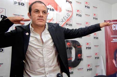 'Cuau' se distancia del PSD y despide a tres secretarios