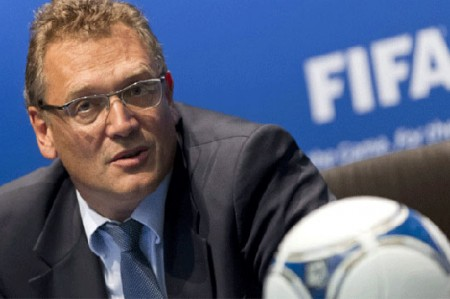 FIFA despide a su secretario general Jerome Valcke