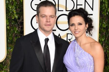 Matt Damon gana Globo de Oro por 'El Marciano'