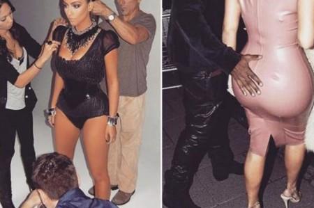 Ponen a dieta a Kim Kardashian