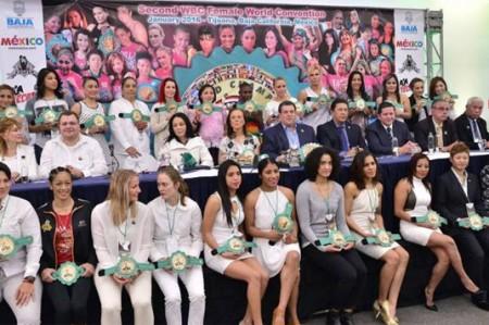Se inaugura la segunda convención femenil de boxeo