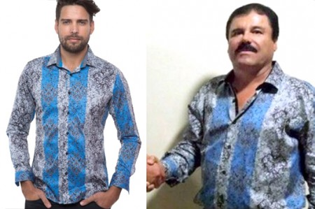 Camisa que usó 'El Chapo', es el último grito de la moda