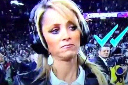 Dejan en visto a Inés Sainz en el Super Bowl