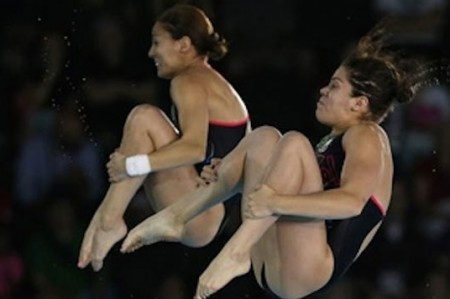 Clavadistas mexicanas pasan a final de Mundial de Río