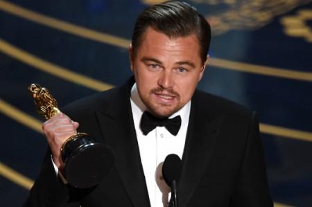 DiCaprio por fin es premiado con un Óscar