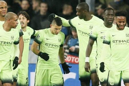 Manchester City vence 3-1 al Dinamo Kiev en octavos de Champions