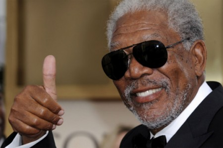 Morgan Freeman se mueve en las alturas