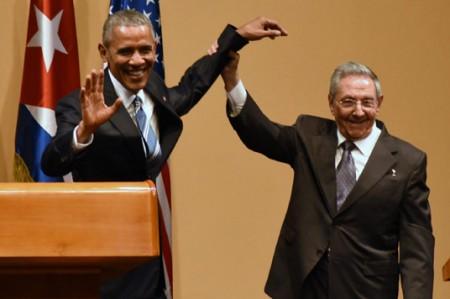 Obama y Castro chocan en democracia y libertades